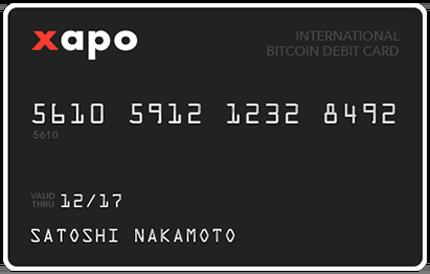 tarjeta de bitcoin