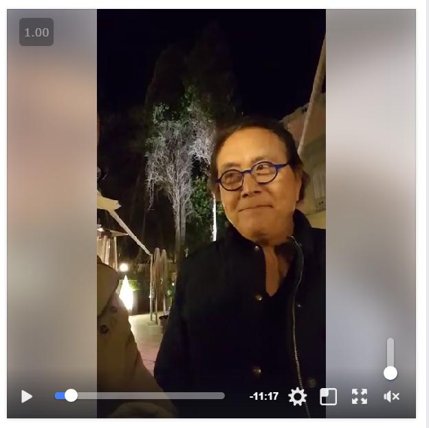 Evento de Robert Kiyosaki en España